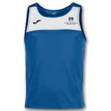 Carrick On Shannon Joma Race Sleeveless Vest Royal/White Youth 2019